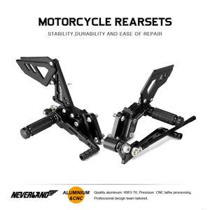 Rearset Foot Pegs Rear Sets For Suzuki GSXR600 GSXR750 06 07 08 09 10 K6