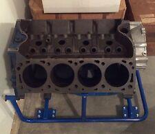 Boss 429 component engine: 429 SCJ 4-bolt block; new KAASE B9 aluminum heads! +