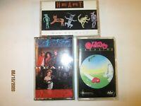 Lot of 3 Heart cassettes, Magazine, Bad Animals, Self Titled