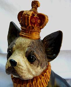 Hund mit Krone, brit style, Landhaus, Shabby chic sucht neues zuhause