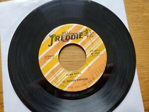 """EL BROWN EXPRESS - Alma Rota / No Te Puedo Olvidar 70's LATIN Freddie 7"""""""