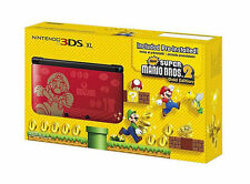 Nintendo 3DS XL Limited Edition Super Mario Bros 2 Limited Edition NEW