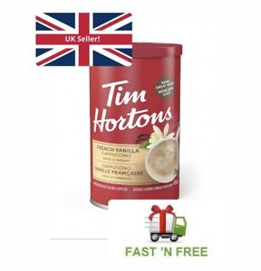 Tim Hortons French Vanilla Cappuccino *UK SELLER* Dispatch within 24 hours