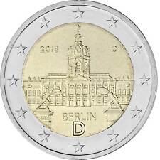2 Euro Gedenkmünze Deutschland 2018 - Schloss Charlottenburg Berlin - D München