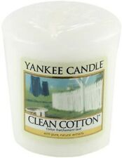 Yankee Candle Clean Cotton Votive Candle Sampler candle 45g x 18 NEW