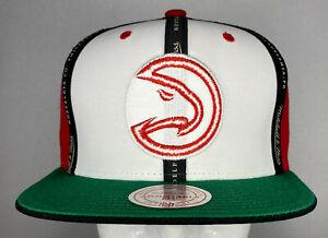Mitchell and Ness NBA Atlanta Hawks Rally Cap Snapback Hat, Cap, New
