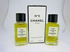 Chanel No 5 2 x 19 ml Eau de Toilette EDT parfum perfume set 18Dec4-T