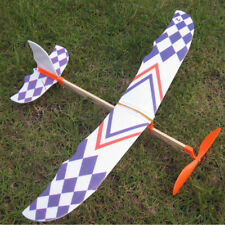 DIY Kit Aircraft Educational Toys Elastic Rubber Band Powered Foam Plane Model