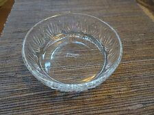 Avon Clear Cut Glass Candy Dish Bowl 70's Vintage