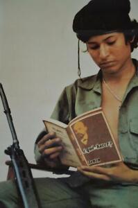 1983 vintage GDR propaganda poster German Socialist Realism Nicaragua Karl Marx