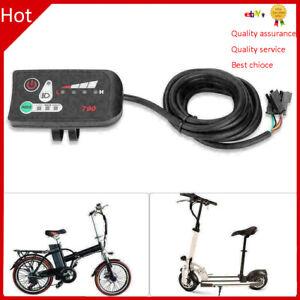 24/36/48V 3-Speed Waterproof LED Control Panel/Display Meter-790 E-bike Scooter❤