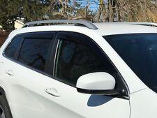 Jeep Cherokee Side Window Vent Deflector Rain Guard Visor 2014-2018 JSP 218157