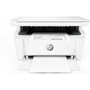 HP LaserJet Pro M28a Monochrome Imprimante Tout-en-un à Laser - Blanche
