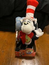 1997 Dr Seuss Cat In The Hat W/ The Gink Plush Rhyme & Surprise In Box Mattel