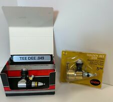 Model Airplane Engines, COX- One in Box, One in Sealed Display, NEW.