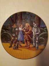 """Wizard of Oz """"I Even Scare Myself"""" Plate - by Knowles"""