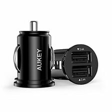 AUKEY Plastic Mobile Phone Chargers & Docks with 2 Ports