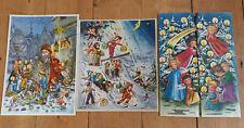 More details for 3 x vintage advent calendars kruger germany