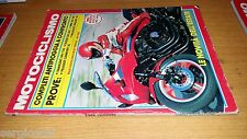 MOTOCICLISMO anno 1983 #  8-KAWASAKI GPZ750-SUZUKI GR 650-SWM XN 350-PEUGEOT 50