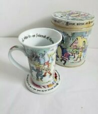 New Snow White Mug Set Coaster Round Paul Cardew Disney Set Ceramic