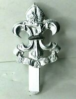 Kings Liverpool & Manchester Regt Staybrite anodised Cap Badge Firmin 32 x 25 mm