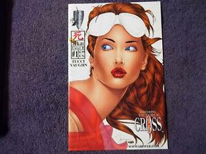 SHI: AKAI #1,2001,COVER B VARIANT,BILL TUCCI,VICTORIA CROSS CRUSADE COMICS -