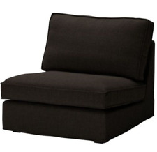 Original SLIPCOVER for KIVIK 1-seat Section from IKEA, Teno Black color, NEW