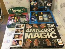 Kids Magic Set x3 Tricks Childrens Magician Trick Illusions Wand JOB LOT BUNDLE