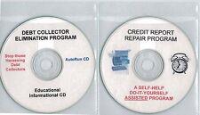 Dual CD Credit Report Repair / Debt Collector Elimination Program CD's