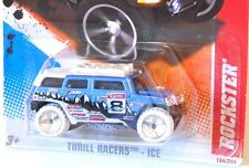 2011 Hot Wheels #194 THRILL RACERS ICE 2/6 * ROCKSTER * WHITE WHEELS