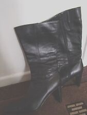 Marks and Spencer Knee High Boots 100% Leather Casual Women's Shoes