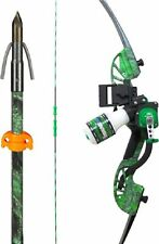 "NEW 2017 AMS BOWFISHING ""Water Moc"" Bow Kit  RECURVE Bow Fishing Package 45#"