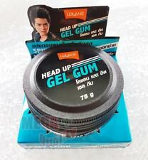 Lolane HEAD UP GEL GUM Style Hair Strong Hold Hair Shiny Man Smart Handsome 75g.