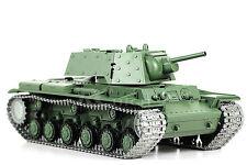1/16 Rc 2.4G Henglong Smoke&Sound Russian Kv1 Tank Premier Vesion