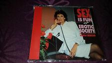 EROTIC Society feat Erika Berger/sex is fun-CD MAXI