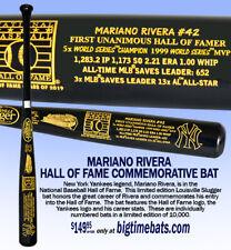 MARIANO RIVERA LOUISVILLE SLUGGER FULL SIZE HALL OF FAME BAT