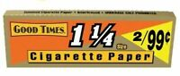 Good Times 1 1/4 1.25 Rolling Papers - 50 PACKS - Cigarette Tobacco GoodTimes