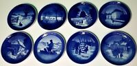 ROYAL COPENHAGEN/BING & GRONDAHL CHRISTMAS/WINTER PLATES 71,72,73,75,76,78,79,80