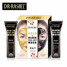 Dr. Rashel Gold & Black Peel OFF 2 in 1 DETOX Mask Remove Surface Youthful Look.