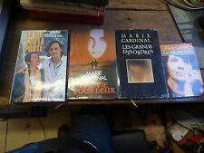 Lot de 4 livres de Marie Cardinal