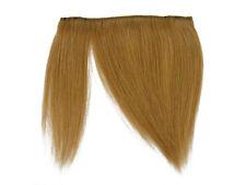 "CLIP-IN HUMAN HAIR FRINGE BANGS CYBERLOX #27 HONEY BLONDE UNCUT 8"""