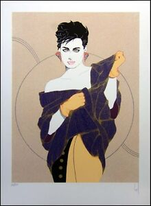 Steve Leal Denise Like Nagel Women Hand Signed Fine Art Serigraph, SUBMIT OFFER