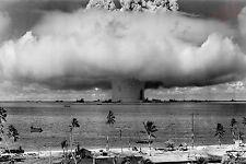 Atomic Bomb Bikini Atoll Mushroom Cloud Operation Crossroad 8x10 Photograph