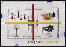 Germany 1998 German Design mini sheet SG MS2865 MNH