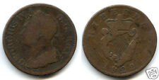 IRLANDE GEORGES IV 1/2 PENNY 1822 !!!!