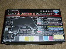 NINTENDO DSi 22 in 1 ACCESSORY PACK NEW USB Charge Console Grip Protector Stylus