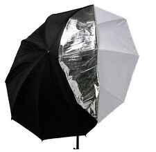 "Photography Studio 33"" double layers reflective and translucent white umbrella"