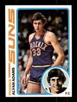 1978-79 Topps #77 Alvan Adams NM/NM+ Suns 403317