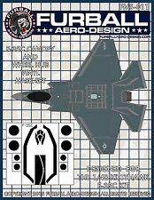 1/48 Furball F-35C Lightning II Vinyl Mask Set for the Kittyhawk Kit