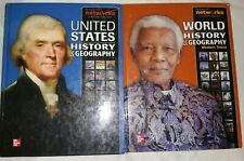 United States and World History and Geography Books McGraw Hill